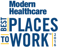 2016 Modern Healthcare Recognition