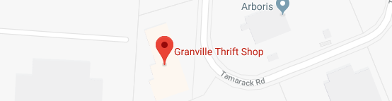 Granville Thrift Shop Map