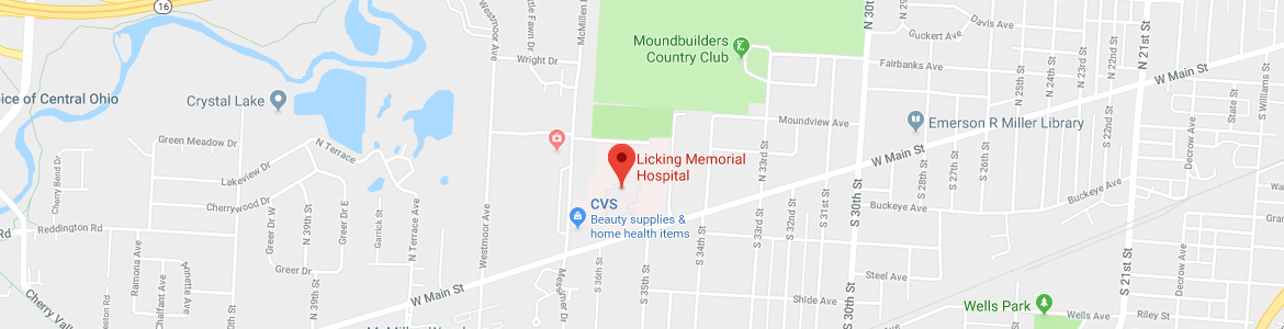 Licking Memorial Health Systems Maps Directions
